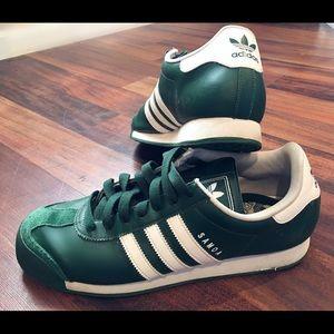 Adidas zapatos verde blanco hombre  Samoa poshmark
